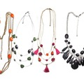 Buy Now: 50 pcs-- Department Store Necklaces-- $1.99 pcs  All Colored Neck