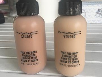 Venta: Bases Mac face & body para Ana