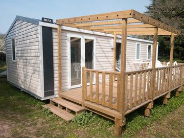 Location par jour: Mobil home - 3 chambres - Saint Lô d'Ourville