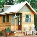 NOS JARDINS A LOUER: Adorable petite maison dans les bois pour se ressourcer