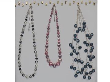 Liquidation/Wholesale Lot: (50) Department Store Necklaces - All Pearls - $1.99 pcs