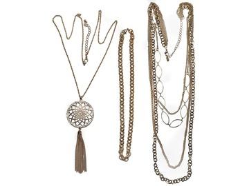 Buy Now: 50 pcs-- Department Store Necklaces-- all Goldtone  $1.99 pcs