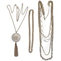 Buy Now: 50 pcs-- Department Store Necklaces-- all Goldtone  $1.99 pcs
