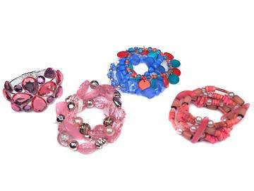 Buy Now: 55 pcs-- Department Store Bracelets-- all colors-- $1.79 pcs