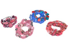 Buy Now: 55 pcs-- Department Store Bracelets-- all colors-- $1.79 pcs