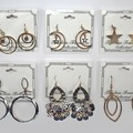 Buy Now: 65 prs-- Department Store Earrings-- all Goldtone  $1.49 pair