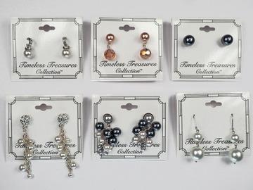 Buy Now: 65 pairs-- Department Store Earrings-- All Pearls!  $1.49 pair