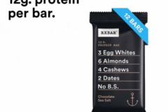 Online Listing: RXBAR Chocolate Sea Salt (5 Boxes Min)