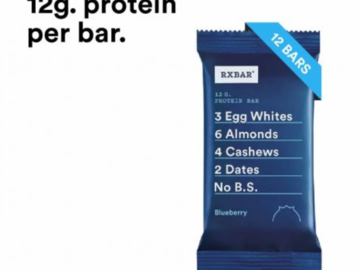 Online Listing: RXBAR Blueberry Bar (5 Boxes  Min)