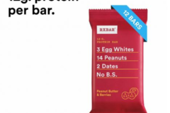 Online Listing: RXBAR Peanut Butter & Berries Bar (5 Boxes Min)
