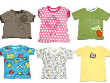 Buy Now: (72) Children Clothing Assorted Boy Girl Baby T-Shirts