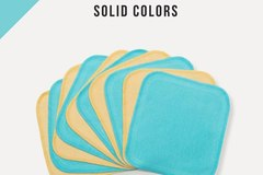 Buy Now: Bamboo Wash Cloth Wipes (100 Count) Cloth Diapering Accessories