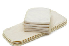 Buy Now: A Lot of 100 Eco-Friendly Bamboo Cloth Diaper Inserts