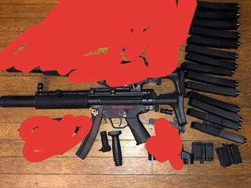 Selling: G&G Mp5sd