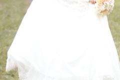 Ilmoitus: Sincerity Bridal puolimerenneito hääpuku 34-36