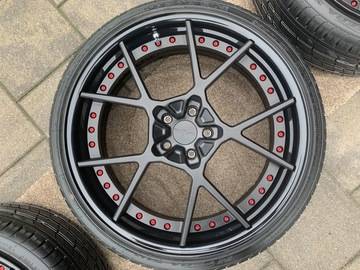Selling: Set of custom 3 piece Rotiform KPS wheels