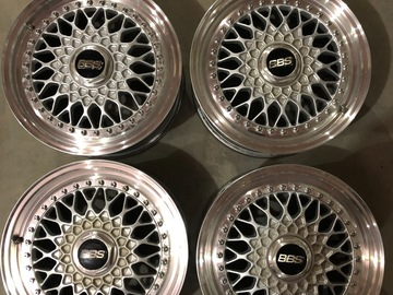 Selling: BBS RS327 Convex Faces 16x7 et50