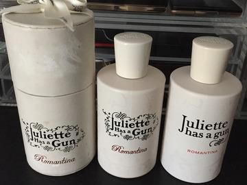 Venta: Juliette Has A Gun ROMANTINA 100 ml    UNO RESERVADO