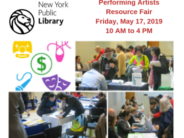 Partner Event: Performing Artists Resource Fair