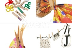 Buy Now: Wooden Clothespins by Bosubari –50 PCS – Not Heaviest Duty but La