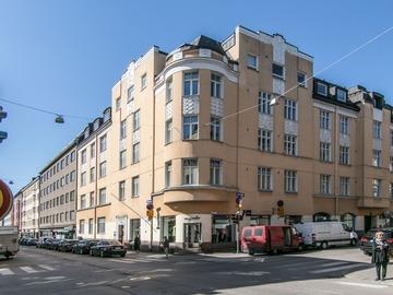 Annetaan vuokralle: Huone (n. 26 m2) soluasunnosta Lönnrotinkatu 17, 00120 Helsinki K