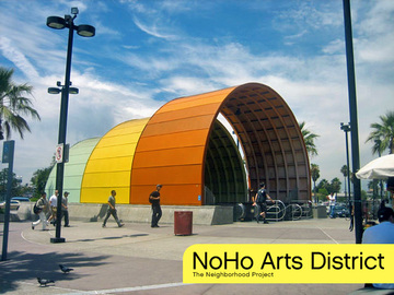 Daily Rentals: Los Angeles CA, Trendy NOHO  Arts District Daily Parking
