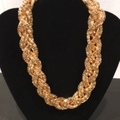 "Buy Now: 100 pcs-- ""Express"" Gold  Woven Neck-- .99 pcs!! Price Reduction!"