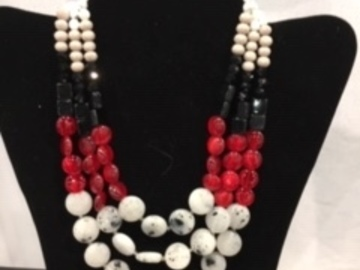 Liquidation/Wholesale Lot: 50 pcs-- Designer Necklace-- Multi Row  $1.99 pcs