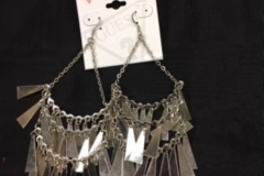 Buy Now: 50 prs-- GUESS Earrings-- Large Dangle--$1.99 pr -Retails $ 25.00