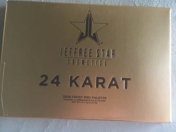 Venta: JEFFREE STAR 24 Karat skin frost pro palette
