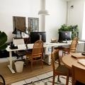 Renting out: Pöytäpaikka viihtyisällä kivijalkatyöhuoneella Punavuoressa