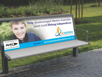 Ad Spot (per placement): High Traffic Park Bench (Sample)