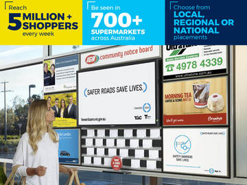 Ad Spot (per placement): IGA Noticeboard Ad (Sample)