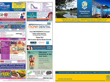 Ad Spot (per placement): Local School Newsletter (Sample)