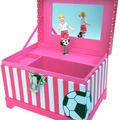 Buy Now: Lot of 50 cartons -Just Like Me Soccer Player Musical Jewelry Box