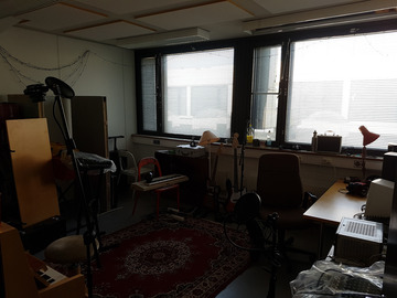 Renting out: Shared studio 18m2, available 24/7 in Munkkisaari