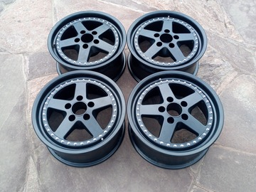 Selling: Work Equip 05 16 inch 7.5J ET+28 3PIECE WHEELS 5x114.3