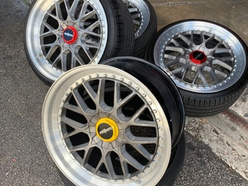 "Selling: 20"" Rotiform RSE 3 Piece Wheels"
