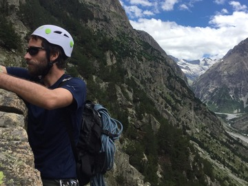 Climbing partner : climbing partner for multipitch or sport climbing 12-23MAY France