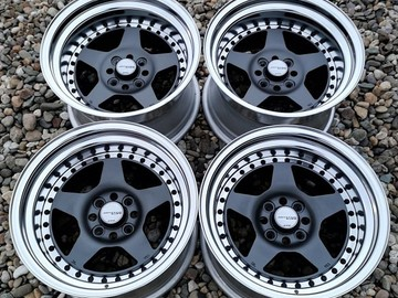 Selling: Work Meister CR01 - 15x8.5 4x100 -9 / 15x9 4x100 -6