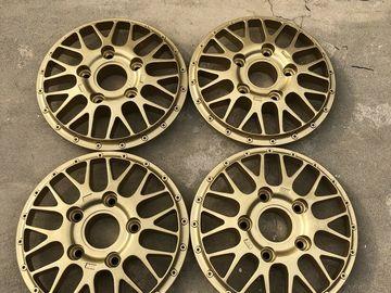 Selling: BBS E26 Porsche Motorsport Magnesium Wheels Centers