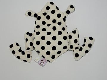 Sale retail: Bouillotte sèche - grenouille blanche