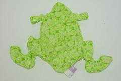 Vente au détail: Bouillotte sèche - grenouille verte à spirales