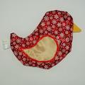 Vente au détail: Bouillotte sèche - Oiseau Flocon de neige