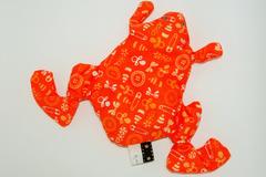 Vente au détail: Bouillotte sèche - Grenouille orange baby