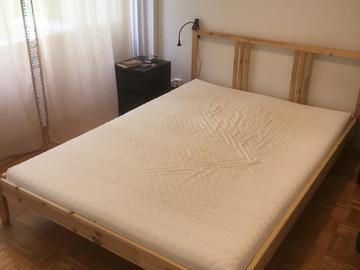 Myydään: *RESERVED* IKEA double bed + mattress