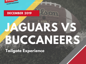 Paid Events: All-Inclusive Jaguars vs Buccaneers Tailgate Experience