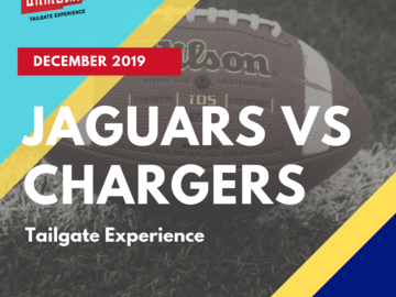 Paid Events: All-Inclusive Jaguars vs Chargers Tailgate Experience