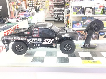 Selling: Team Associated SC10 2WD with HPI TF11 Radio System