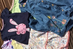 Selling with online payment: Summer top bundle age 3-4